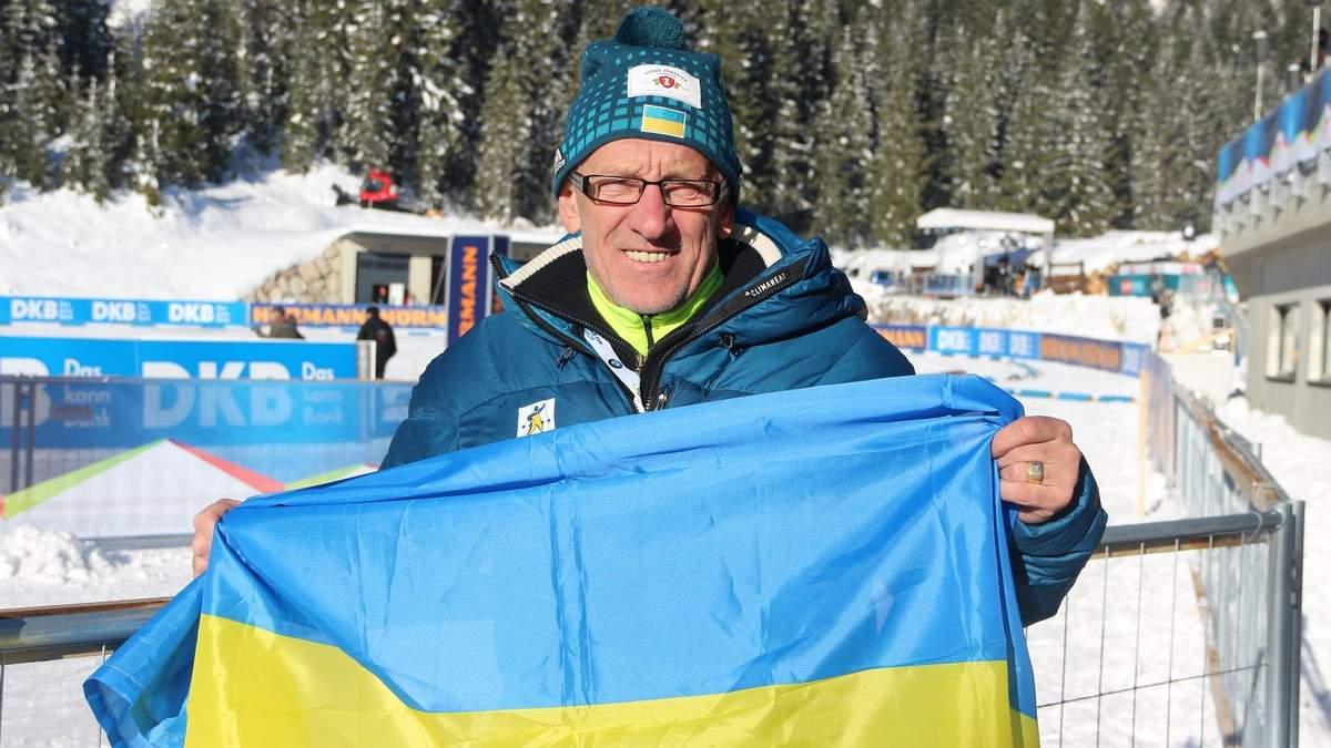 Тренер збірної України з біатлону розповів, чому Підручному не вистачило 0,3 секунди до медалі