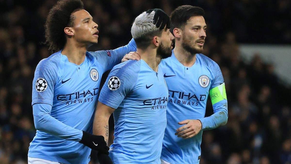 Манчестер Сити – Шальке: видео голов, обзор матча Лига чемпионов 2018/2019