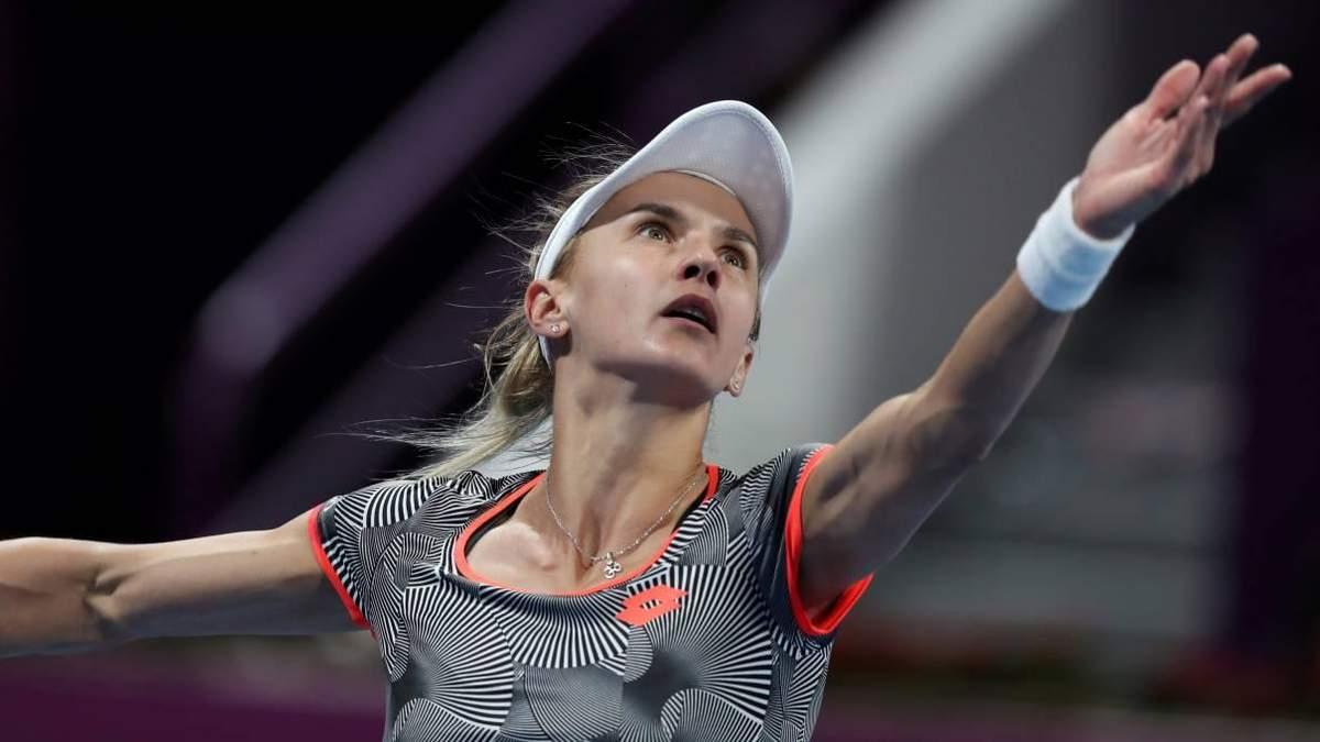 Цуренко уступила белоруске в Индиан-Уэллсе и покинула турнир: видео