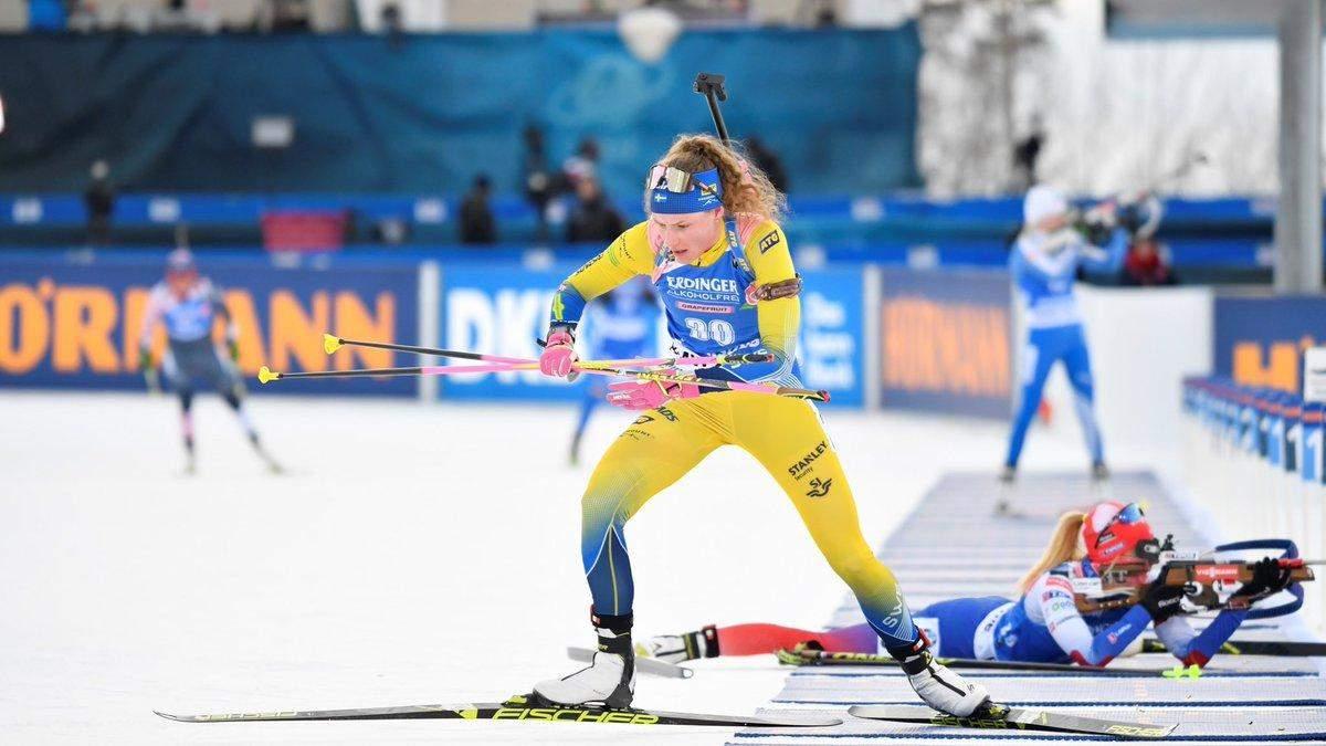 Троє українок у топ-15 на чемпіонаті світу з біатлону, перемогла шведка Еберг