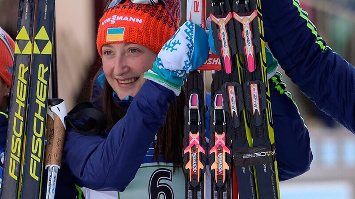 Украинская биатлонистка выиграла золото в спринте на этапе Кубка мира IBU
