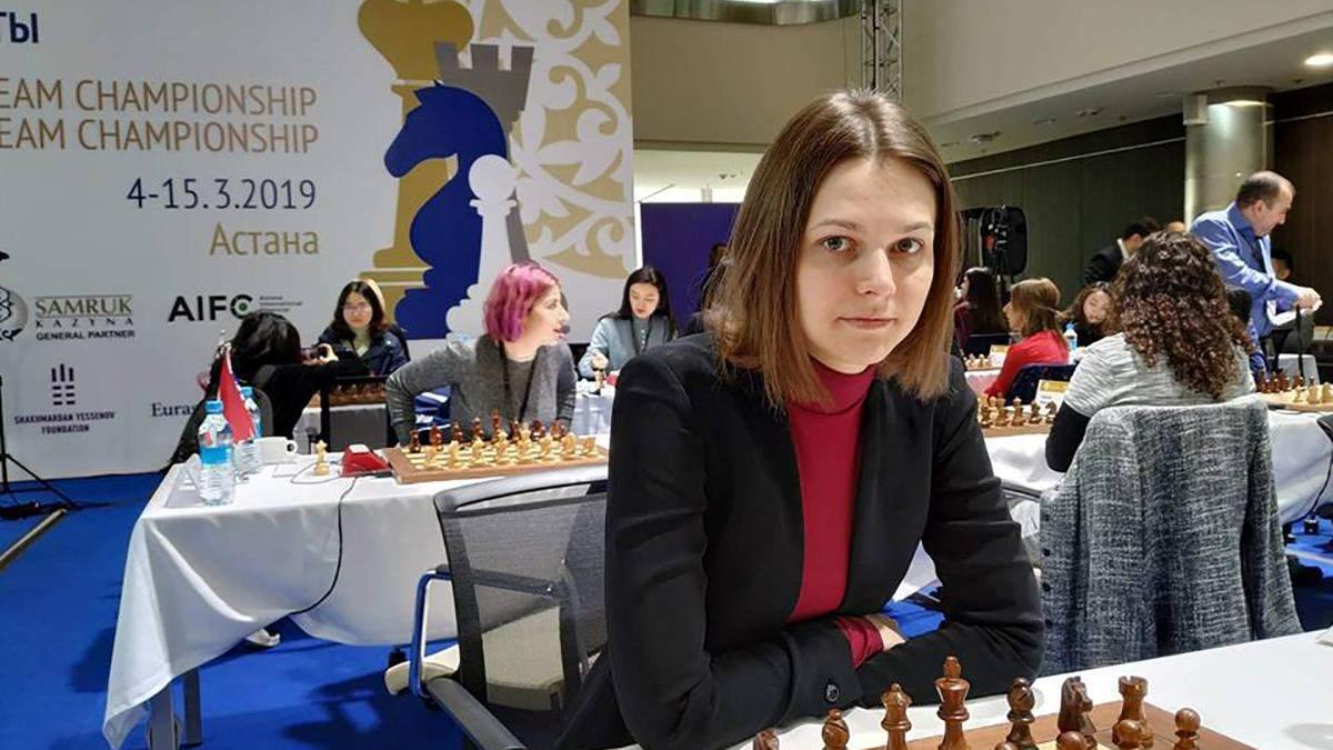 Збірна України з шахів не змогла вибороти срібні нагороди чемпіонату світу
