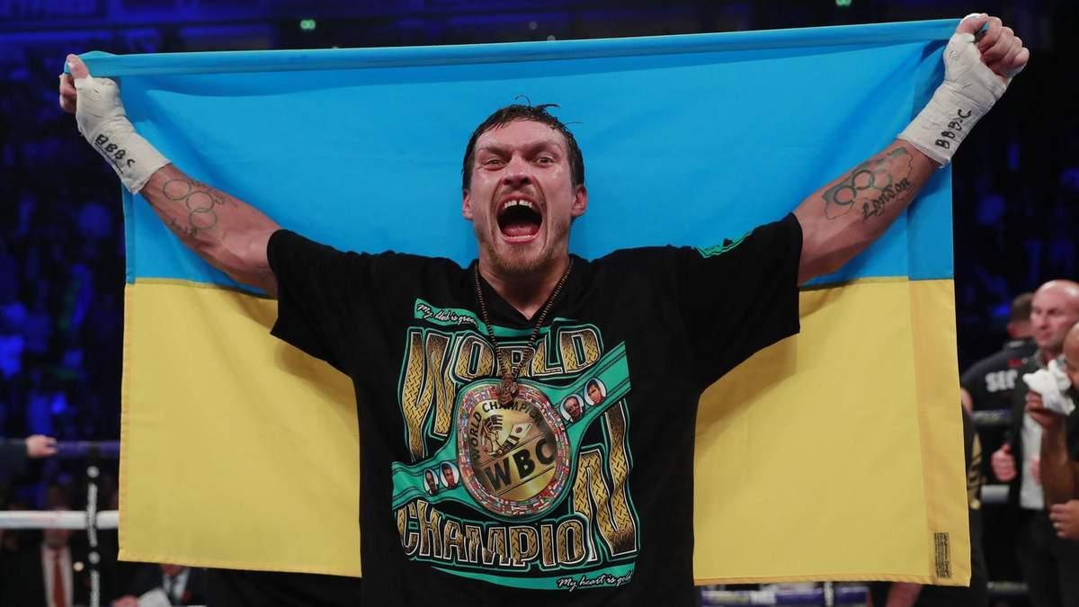 Промоутер Усика анонсував наступний бій українця