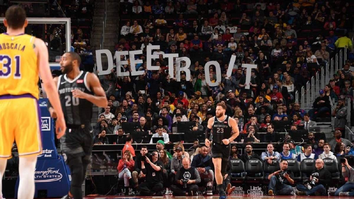"""""""Детройт"""" без украинца Михайлюка одолел """"Лейкерс"""" в матче НБА: видео"""