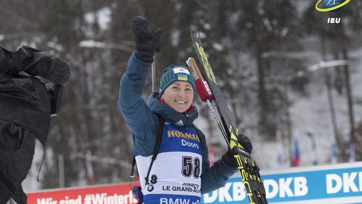 Жіноча збірна України здобула бронзові медалі в естафеті на чемпіонаті світу з біатлону