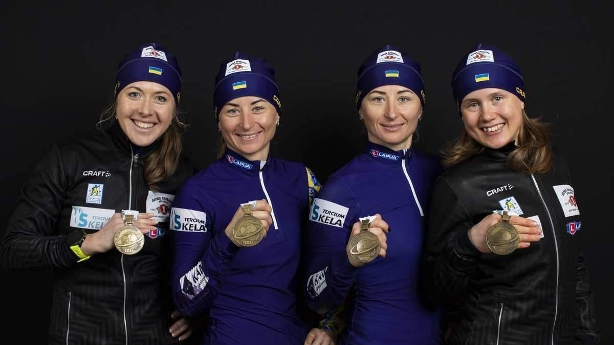 Кубок націй: українські біатлоністи тримаються у топ-10 після чемпіонату світу