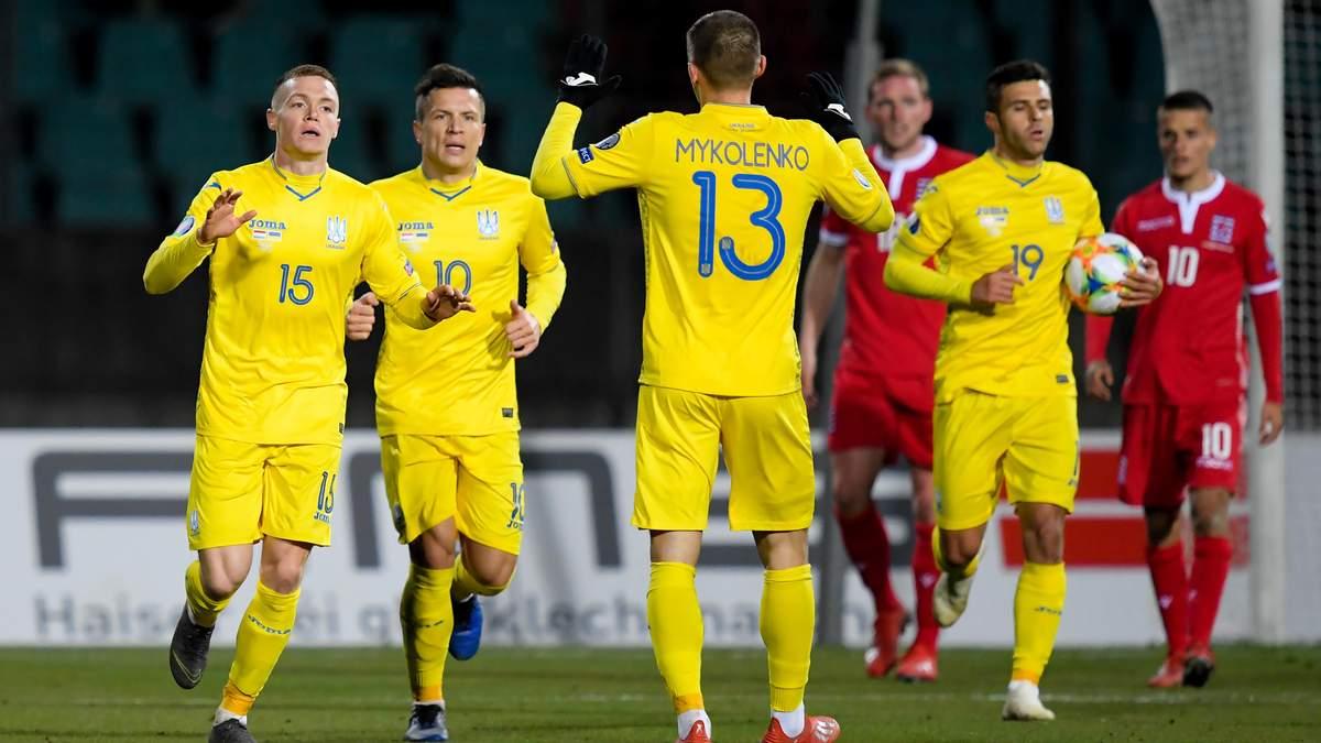 Люксембург - Україна: огляд матчу відбору на Євро-2020