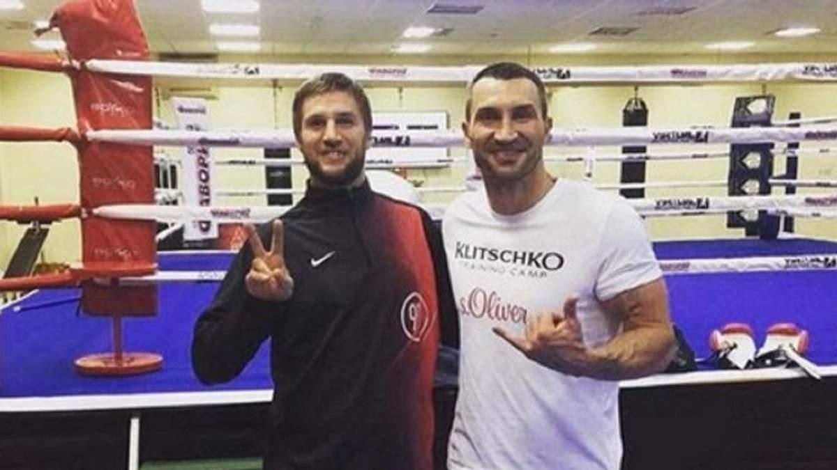 Украинский спарринг-партнер Кличко и Поветкина с победы дебютировал на профи-ринге