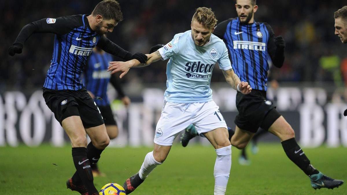 Интер – Лацио: видео голов, обзор матча Чемпионата Италии