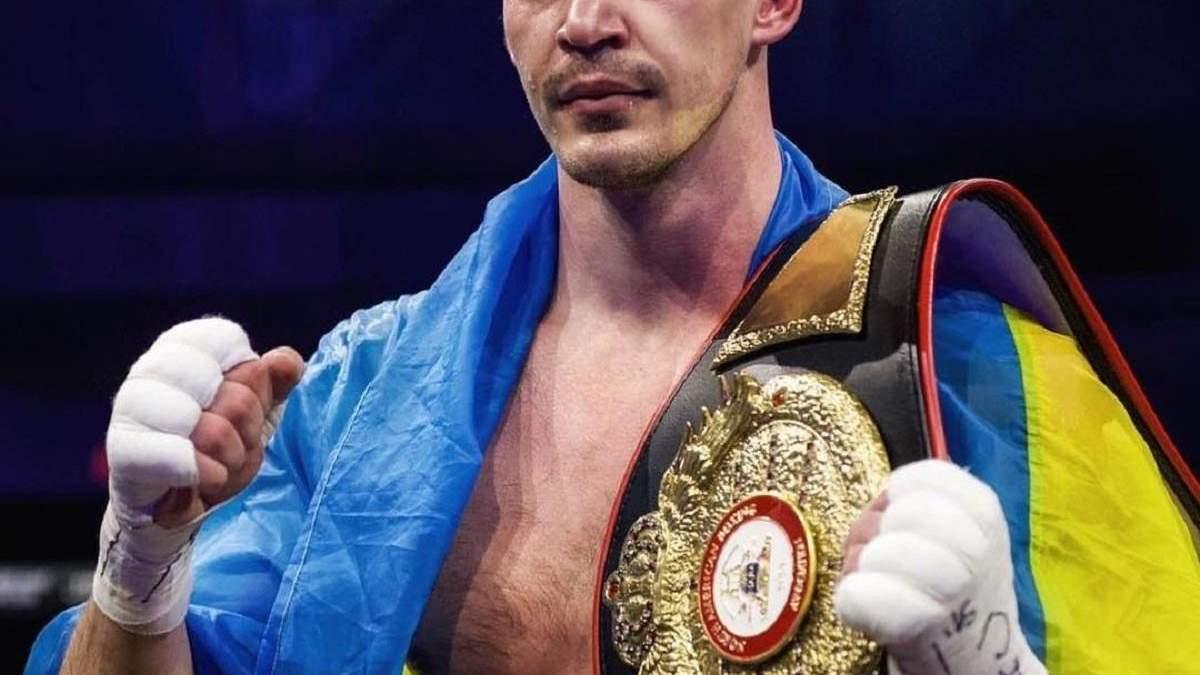 Непобедимый украинский боксер уверенно завоевал первый титул в карьере: фото