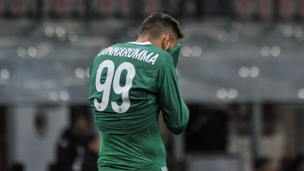 """Воротар """"Мілана"""" пропустив курйозний гол на першій хвилині: відео"""