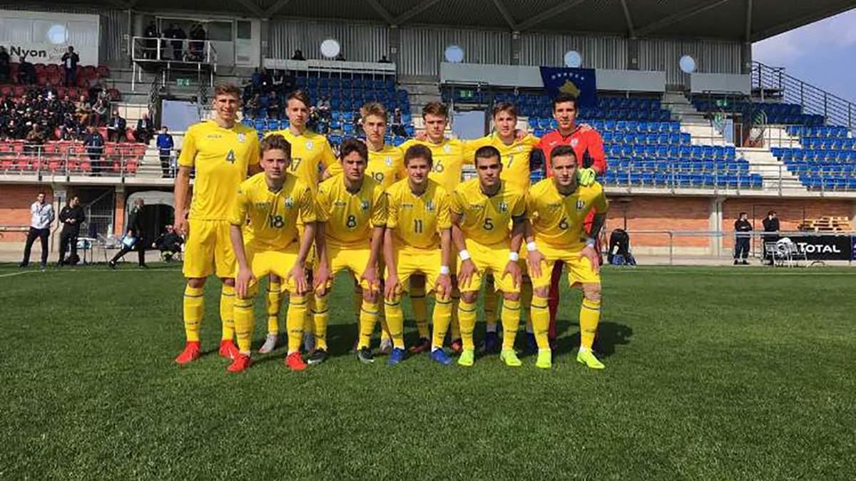 Збірна України драматично програла Іспанії у кваліфікації до чемпіонату Європи U-17