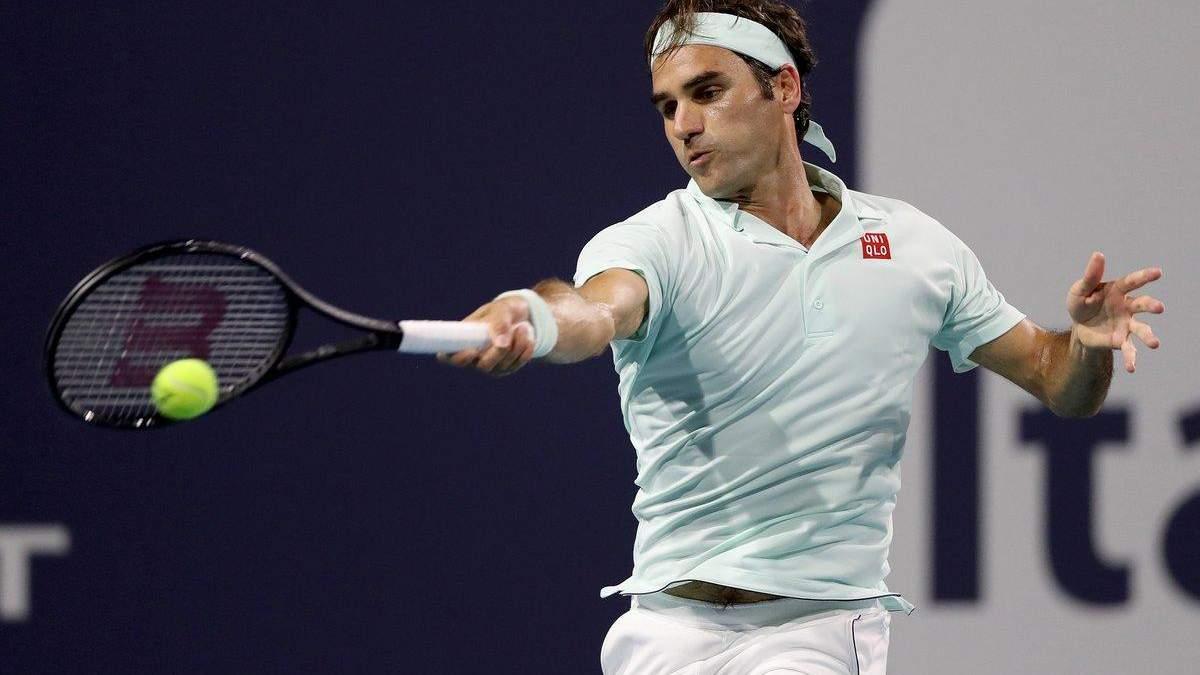 Федерер виграв 101-ий титул у кар'єрі