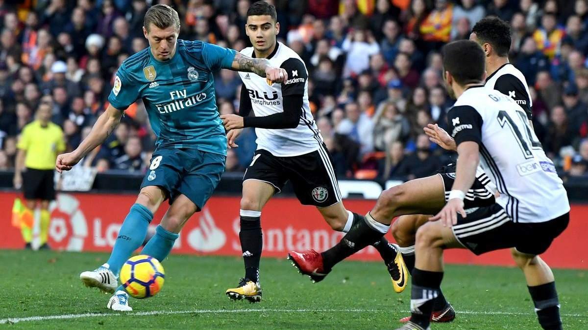 Валенсія – Реал: прогноз букмекерів на матч чемпіонату Іспанії