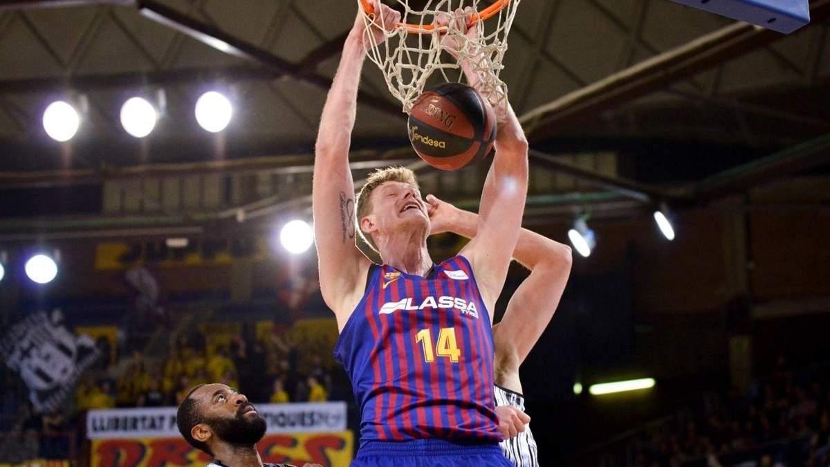 Блок-шот українського баскетболіста став окрасою в чемпіонаті Іспанії: відео