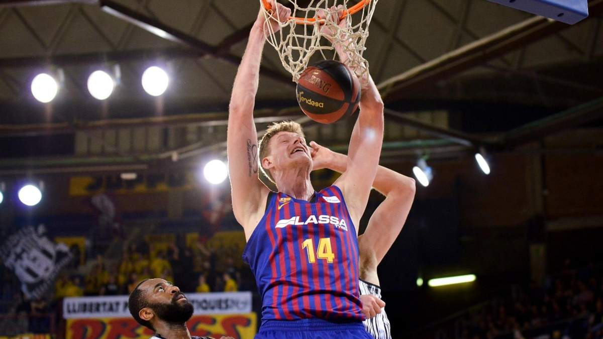 Блок-шот украинского баскетболиста стал украшением в чемпионате Испании: видео