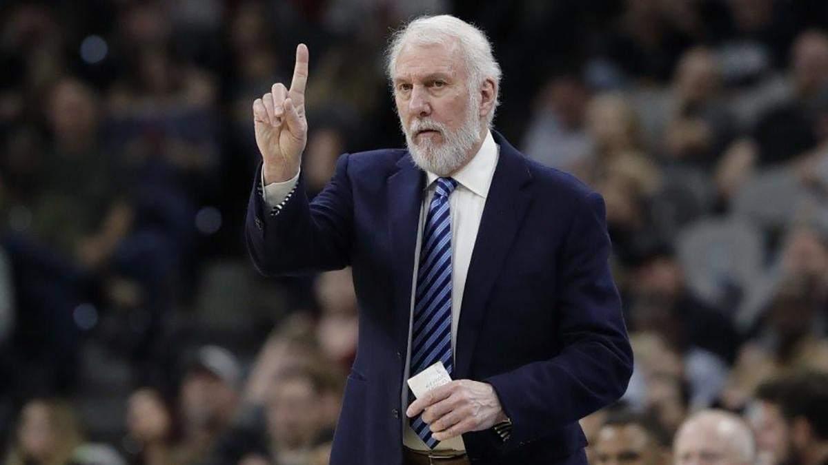 """Тренер """"Сан-Антоніо"""" оскаженів під час матчу НБА й накинувся на арбітра"""