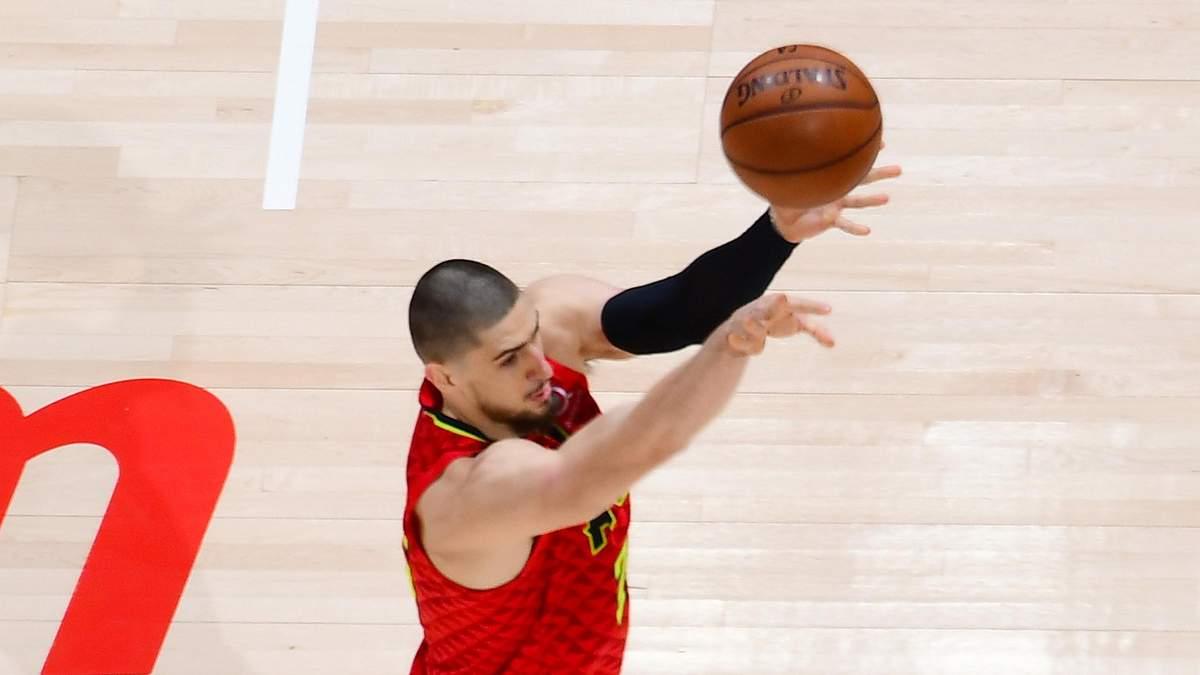 Епізод за участі українця Леня потрапив у топ-10 моментів дня НБА: відео