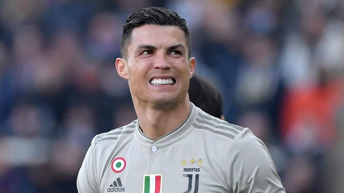 """Роналду може не зіграти за """"Ювентус"""" у першому матчі чвертьфіналу Ліги чемпіонів проти """"Аяксу"""""""