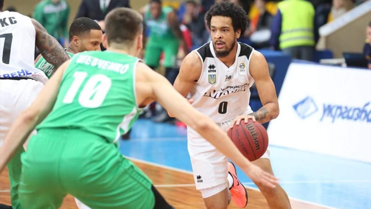 """Баскетбол: минулорічні чемпіони """"Черкаські Мавпи"""" вилетіли з чвертьфіналу Суперліги"""