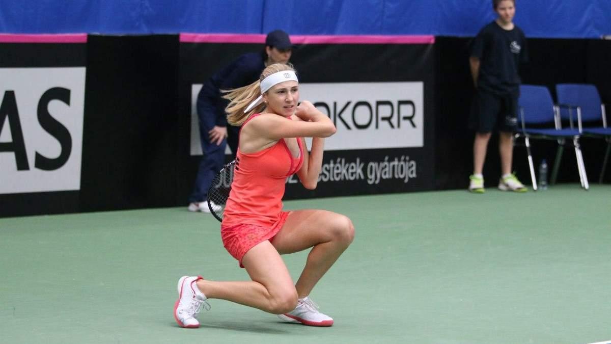Украинка Киченок разгромно уступила на старте турнира в Чарльстоне: видео