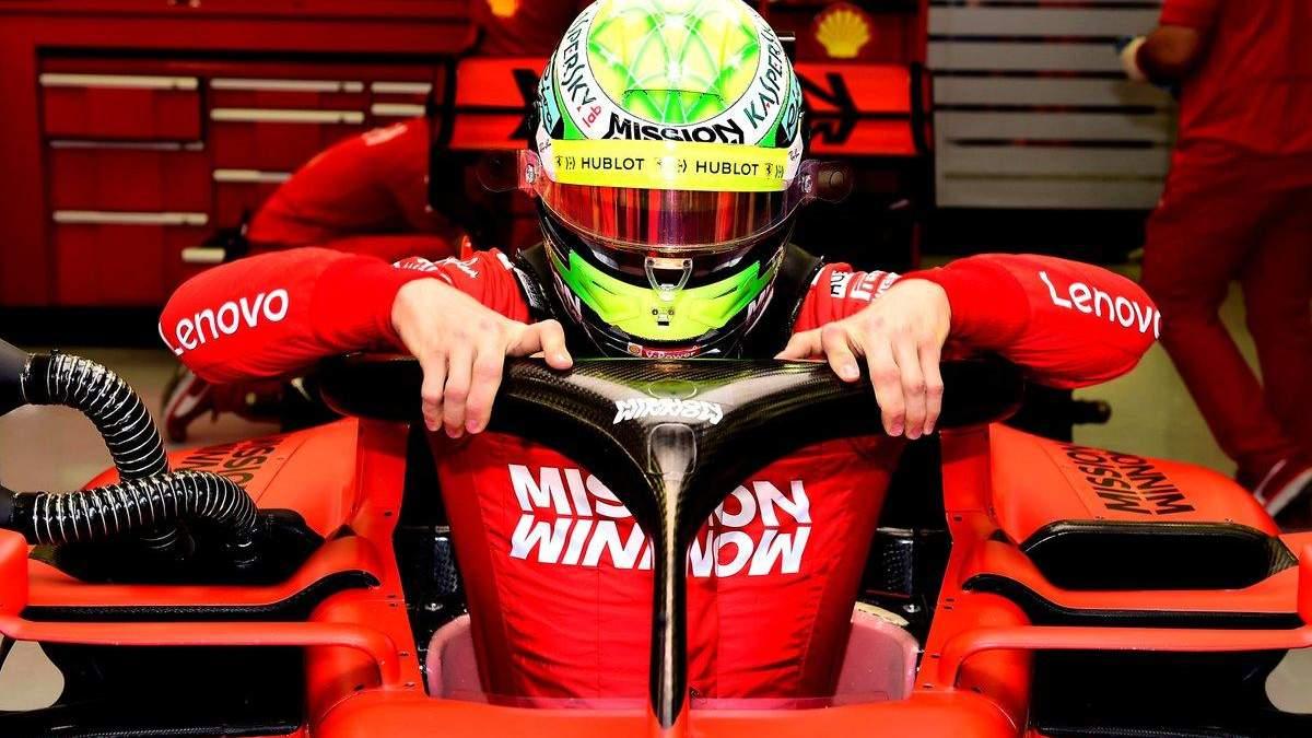 Шумахер знову у Ferrari: відео