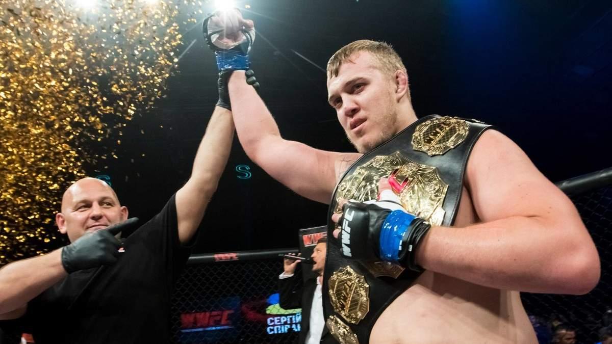 Украинский боец Спивак подписал контракт с UFC и получил первый поединок