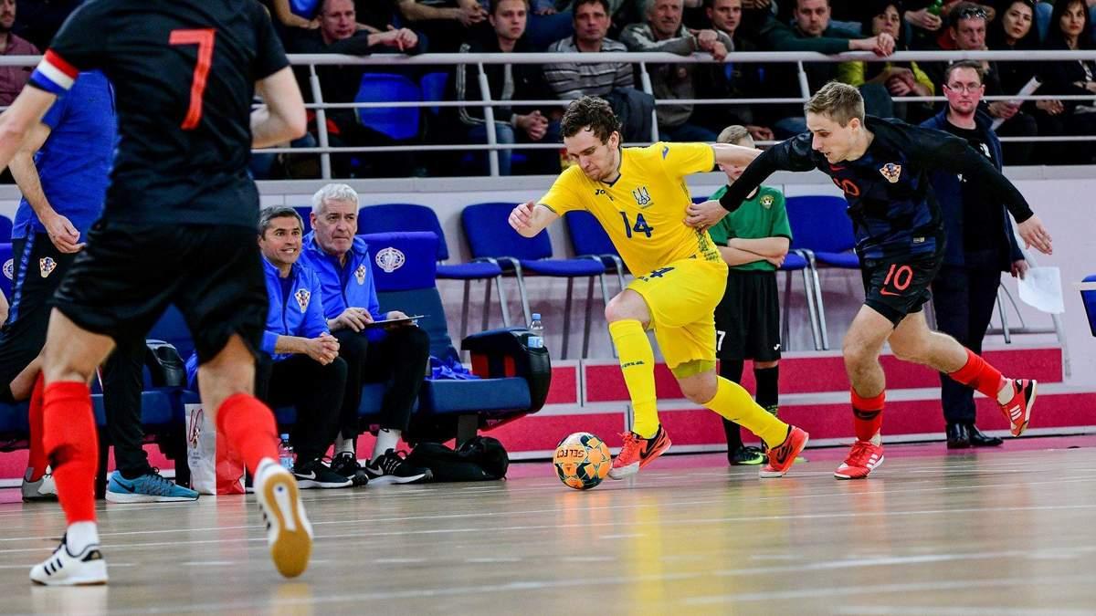 Збірна України з футзалу всуху розгромила Хорватію у товариському матчі