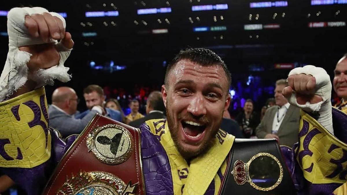 Следующий бой Ломаченко проведет за титул чемпиона WBC