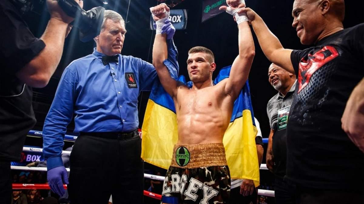 Український боксер Дерев'янченко переміг німця Кулкая
