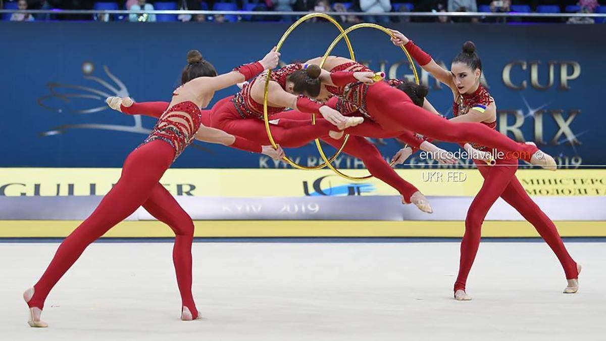 Українські гімнастки перемогли на етапі Кубка світу: відео золотого виступу