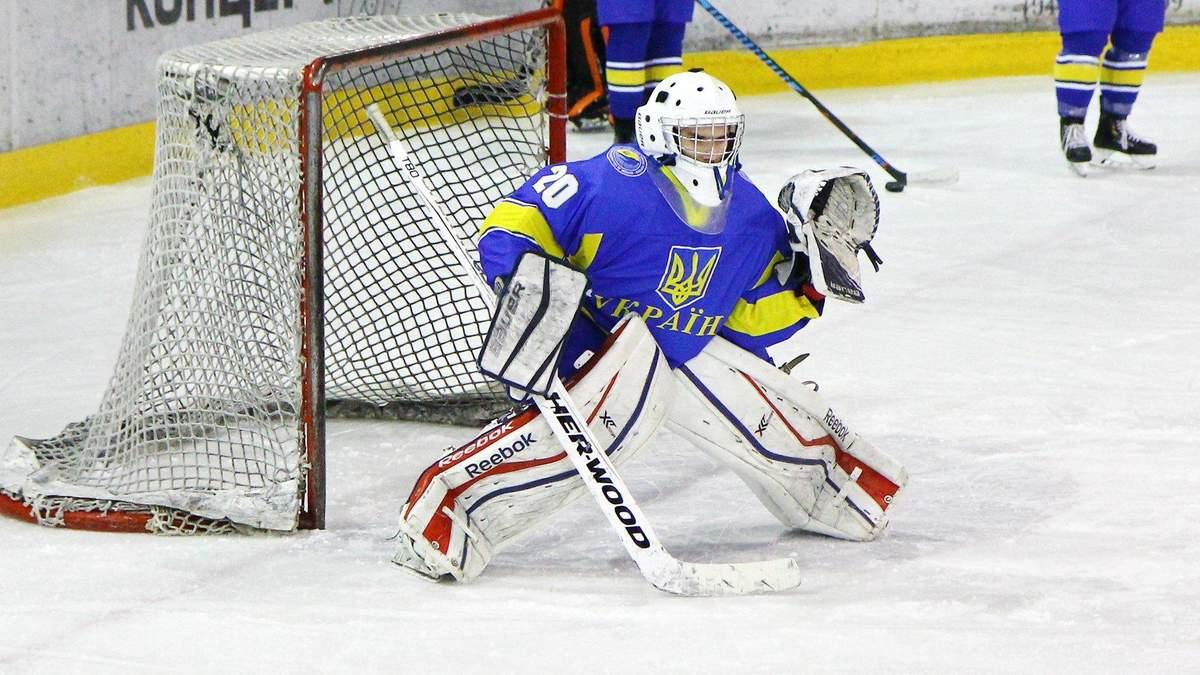 Юнацька збірна України з хокею програла другий матч на Чемпіонаті світу