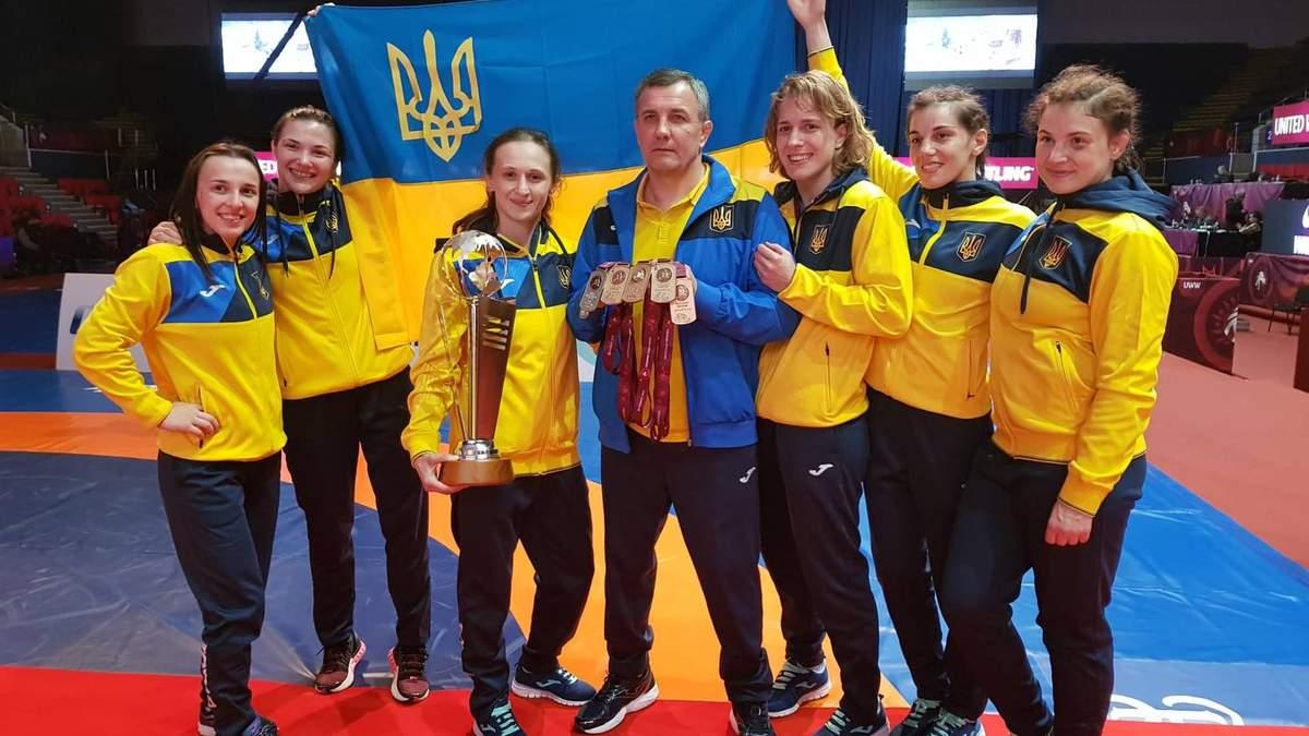 Жіноча збірна України  тріумфально завершила чемпіонат Європи з вільної боротьби