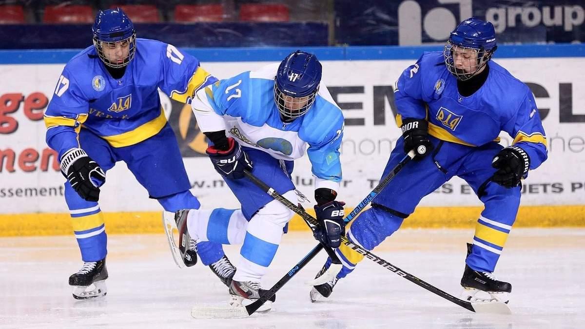 Сборная Украины по хоккею U-18