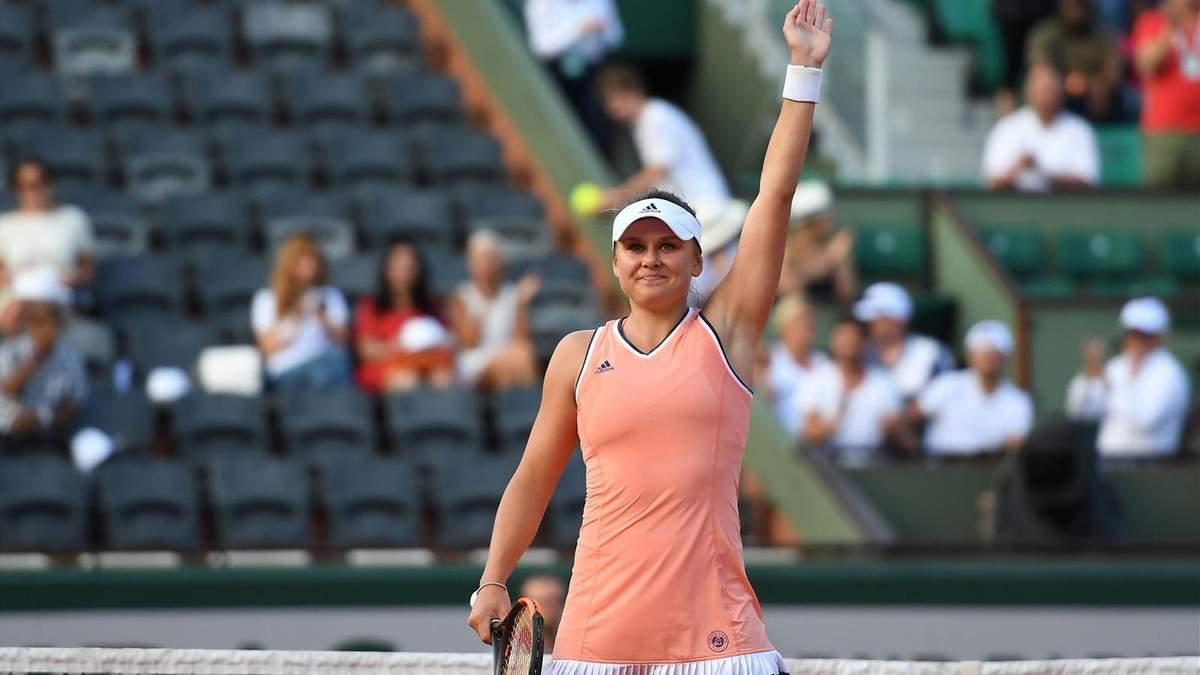 Українська тенісистка Козлова вийшла у фінал кваліфікації турніру в Стамбулі