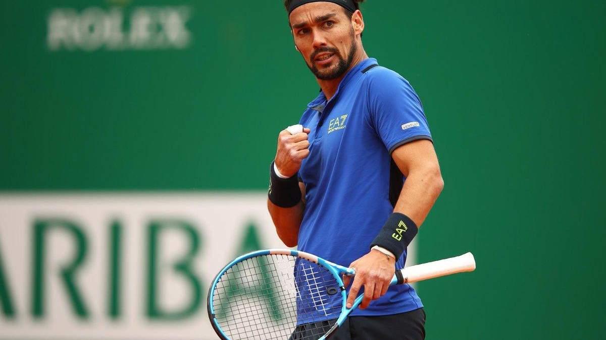 Італійський тенісист встановив історичне досягнення на турнірі в Монте-Карло: відео