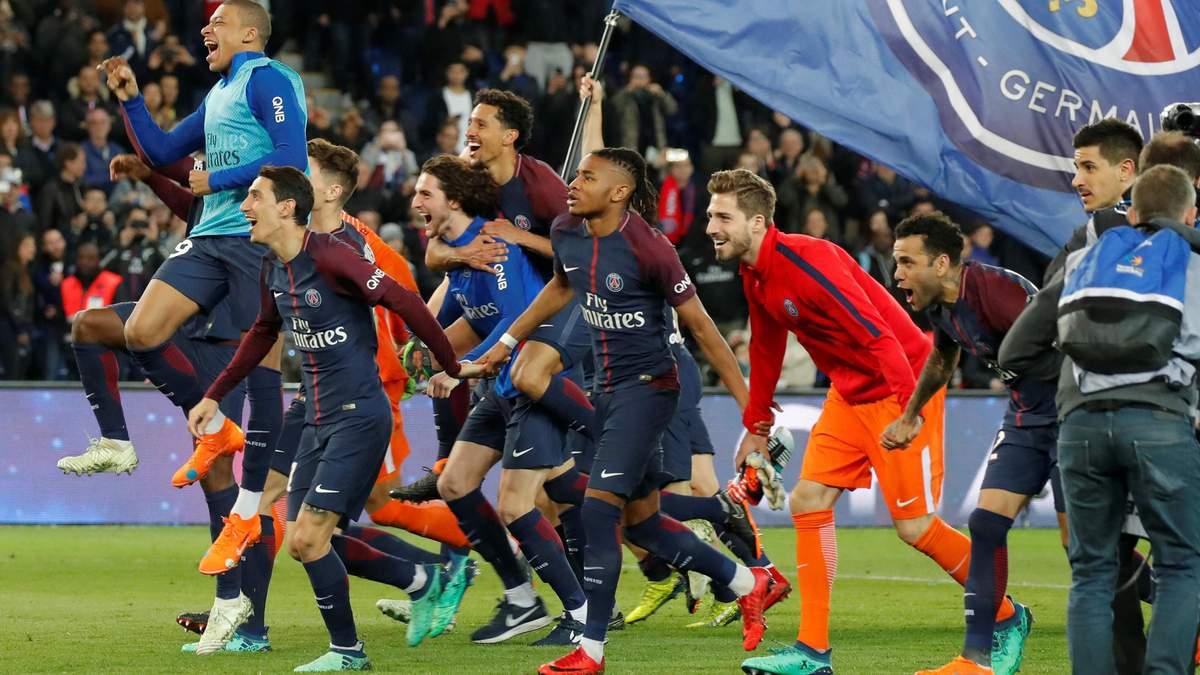 ПСЖ достроково виграв чемпіонат Франції