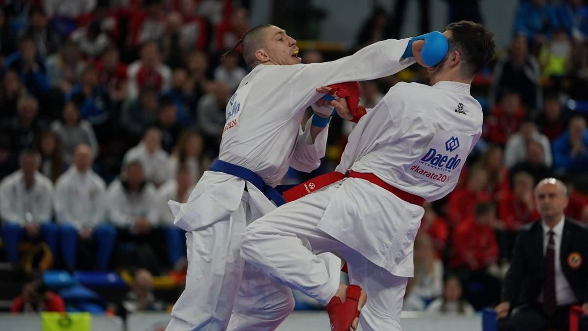 Українські каратисти здобули три золота й одне срібло на престижних змаганнях