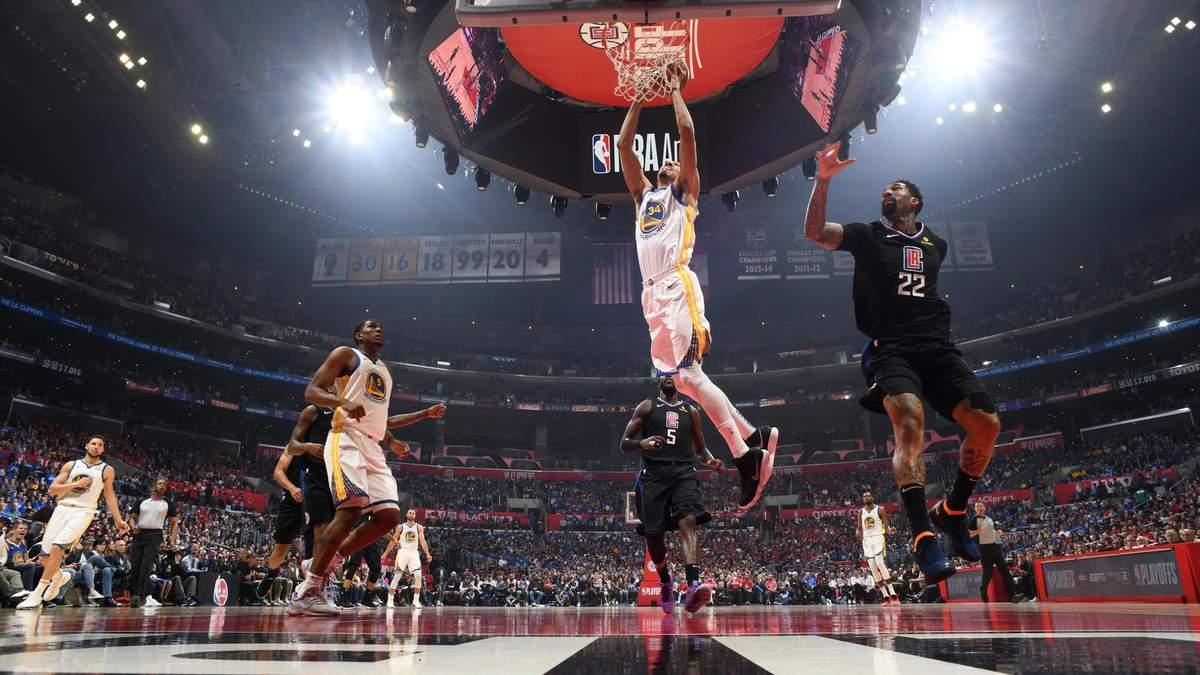 """""""Голден Стэйт"""", """"Торонто"""" и """"Портленд"""" выиграли матчи плей-офф НБА: видео"""