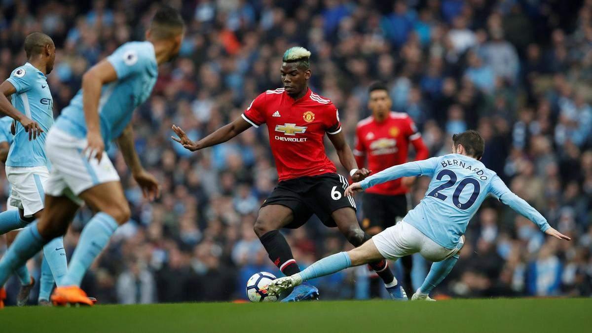 Манчестер Сіті – Манчестер Юнайтед : де дивитися онлайн матч чемпіонату Англії