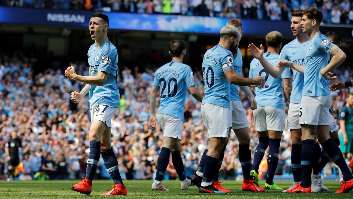 Манчестер Юнайтед - Манчестер Сити: видео голов и обзор матча 24.04.2019