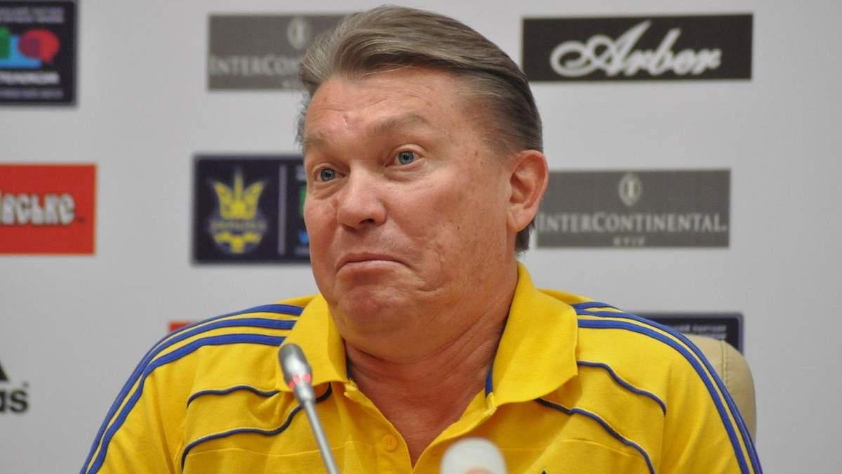 Блохин жестко наехал на Луческу за слова о Лобановском