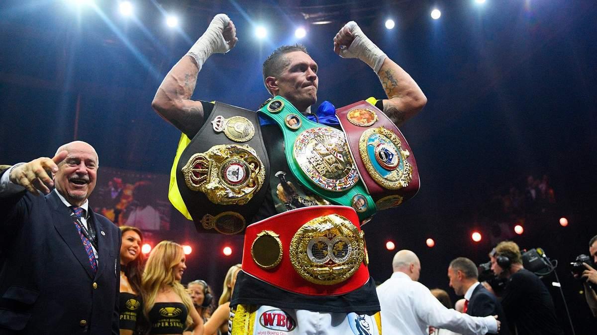 Віталій Кличко назвав оптимальну вагу Олександра Усика для перемоги у суперважкій вазі