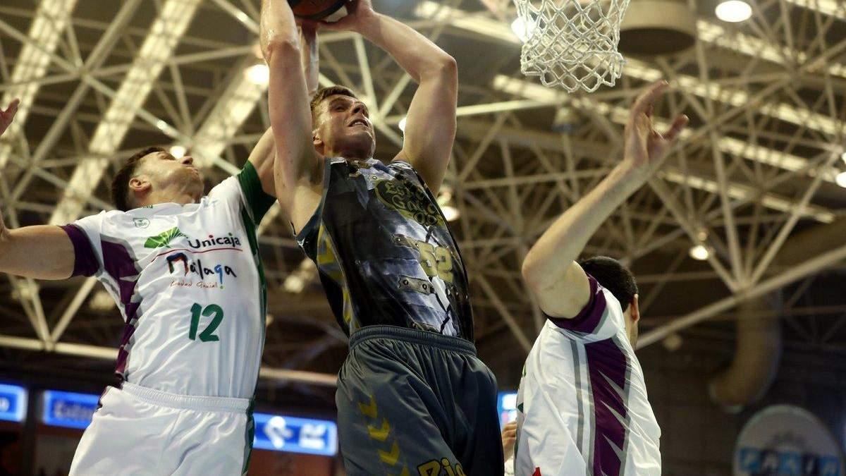 Данк украинского баскетболиста попал в топ-7 моментов чемпионата Испании: эффектное видео