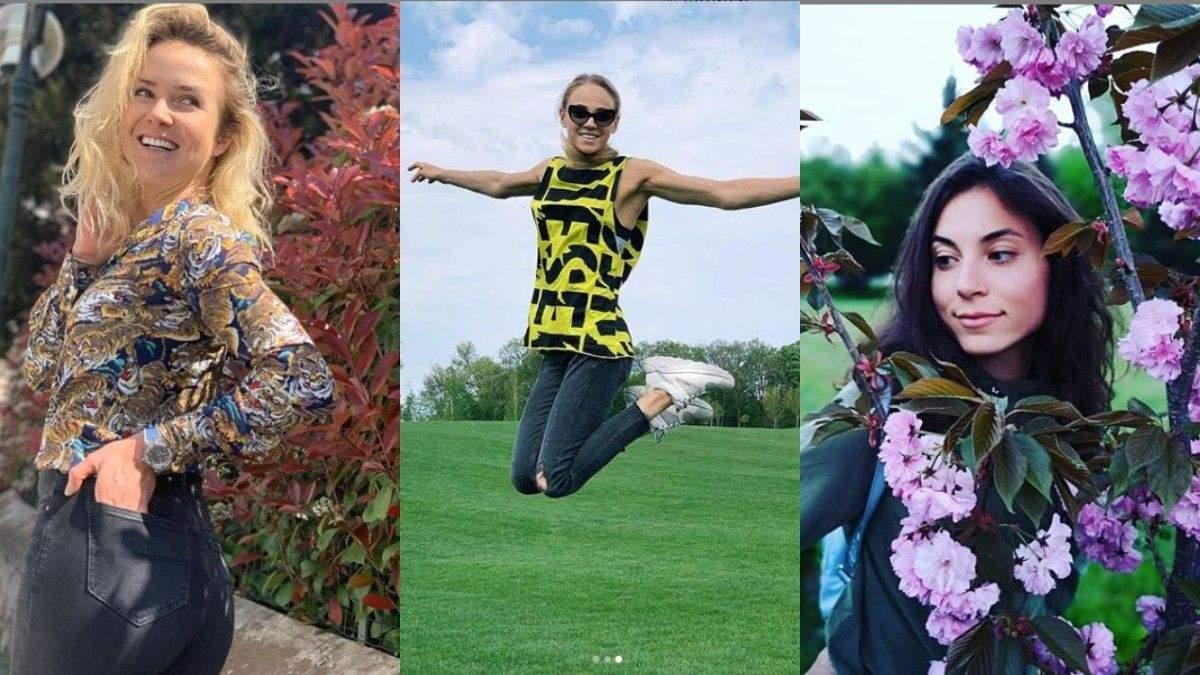 Українські спортсменки-красуні поділились яскравими весняними фото у соцмережах