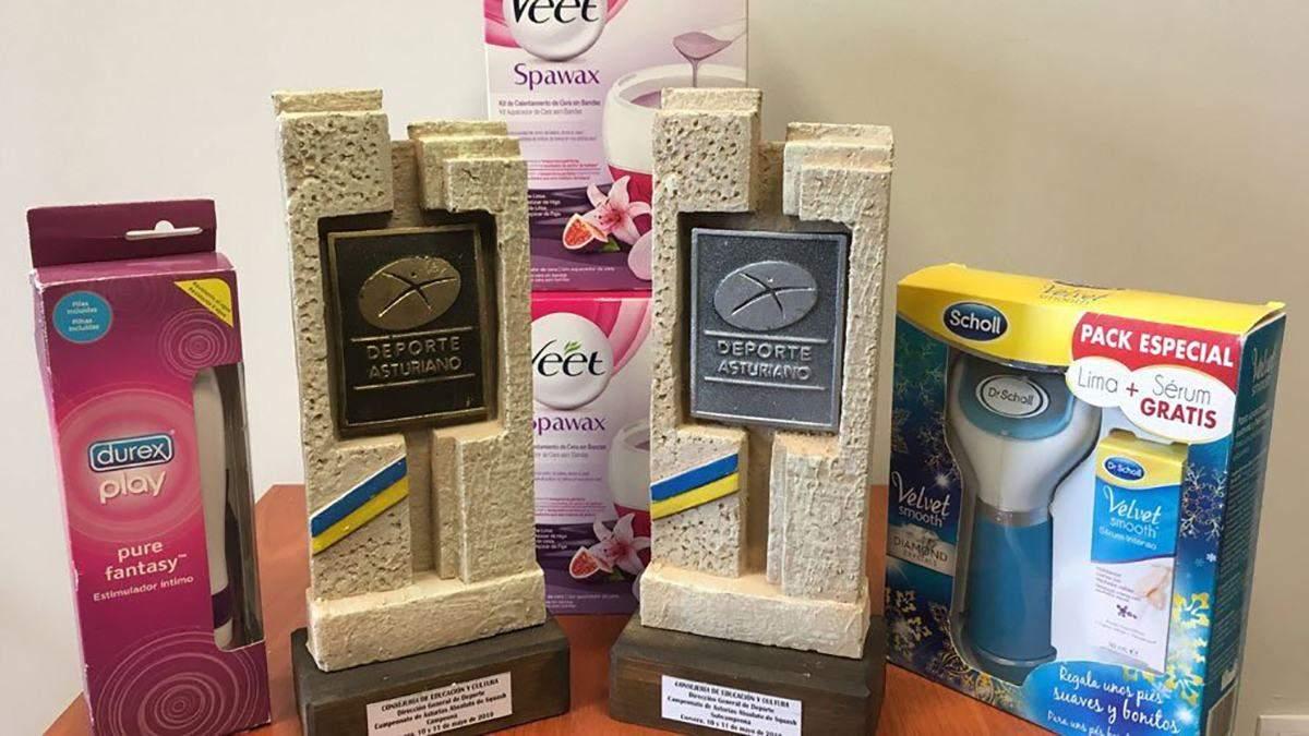 Подарки победительницам турнира в Испании