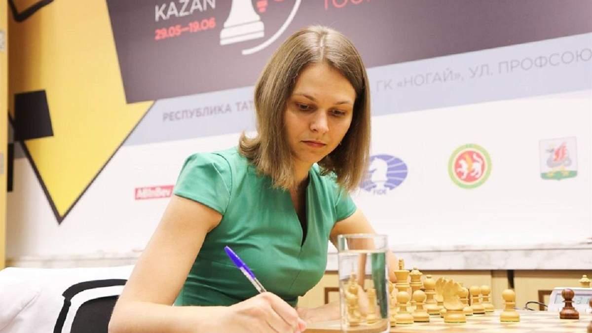 Мария Музычук сыграла второй матч вничью на турнире в России, Анна – проиграла