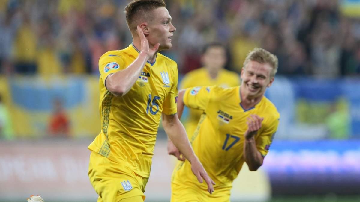 Украина - Сербия: видео голов и обзор матча - 7 июня 2019 - Евро 2020