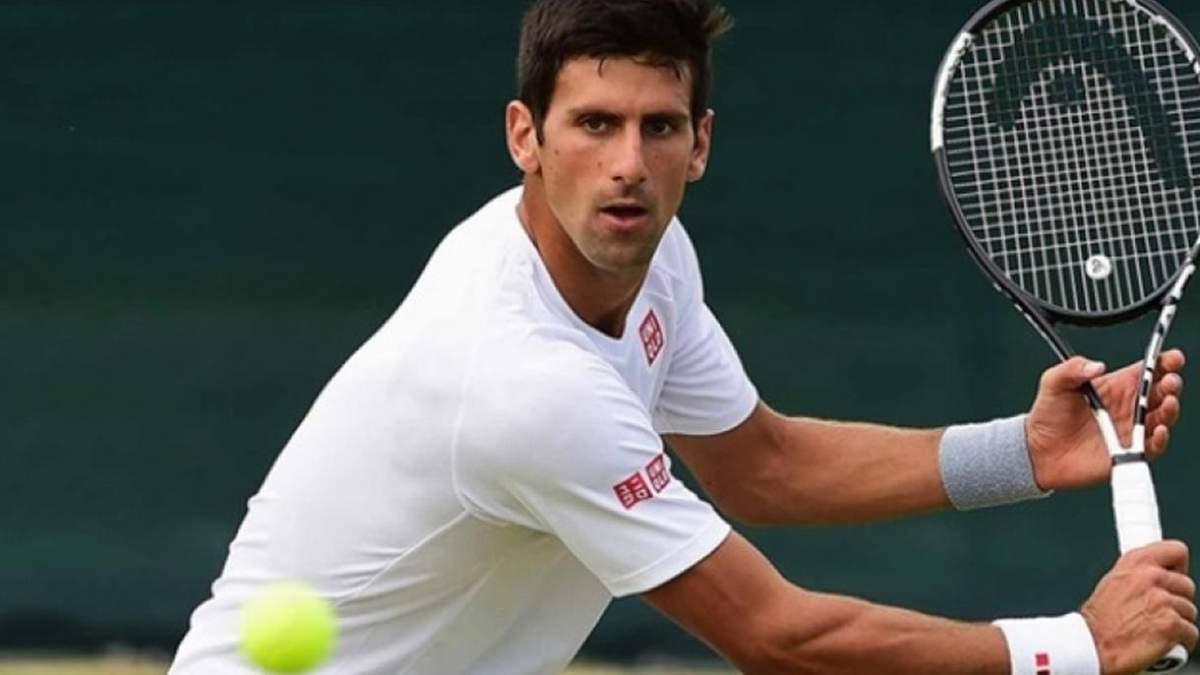 Найвідоміший тенісист Джоковіч удев'яте вийшов у півфінал Roland Garros