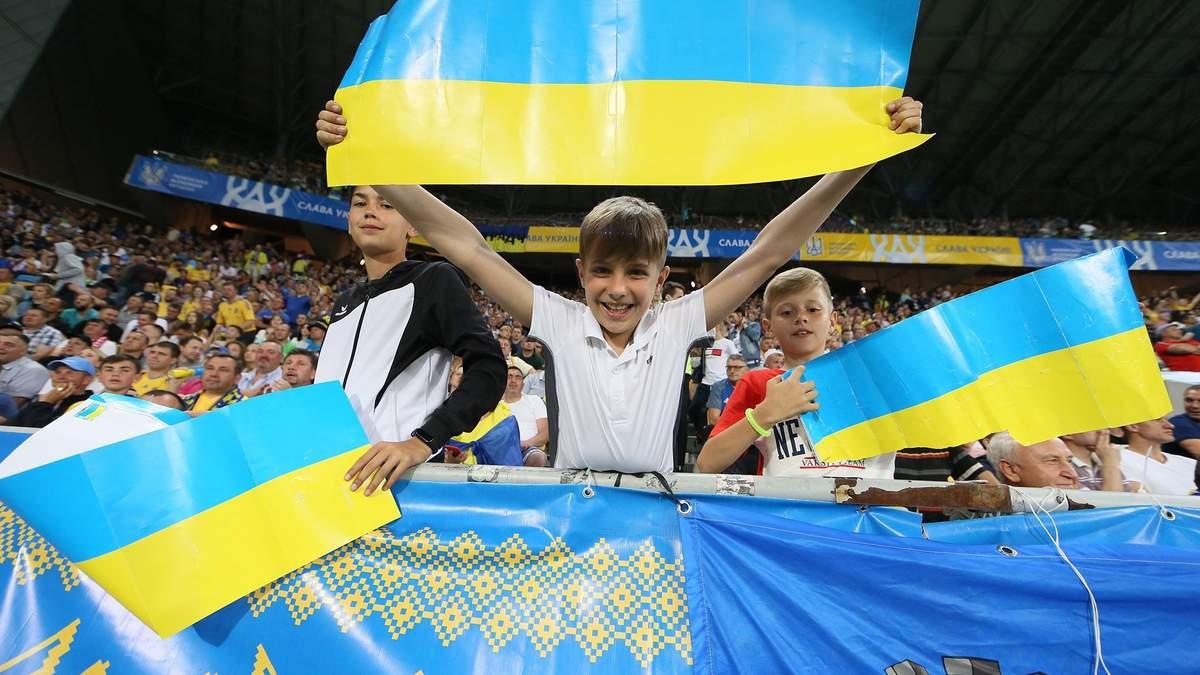 Украина – Сербия: невероятные фото с матча